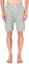 Hugo Boss Marl-effect Cotton Pyjama Shorts