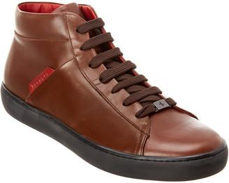 Tod's TodS X Ferrari Leather Sneaker