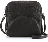 L.A.M.B. Jillian Leather Crossbody Bag, Black