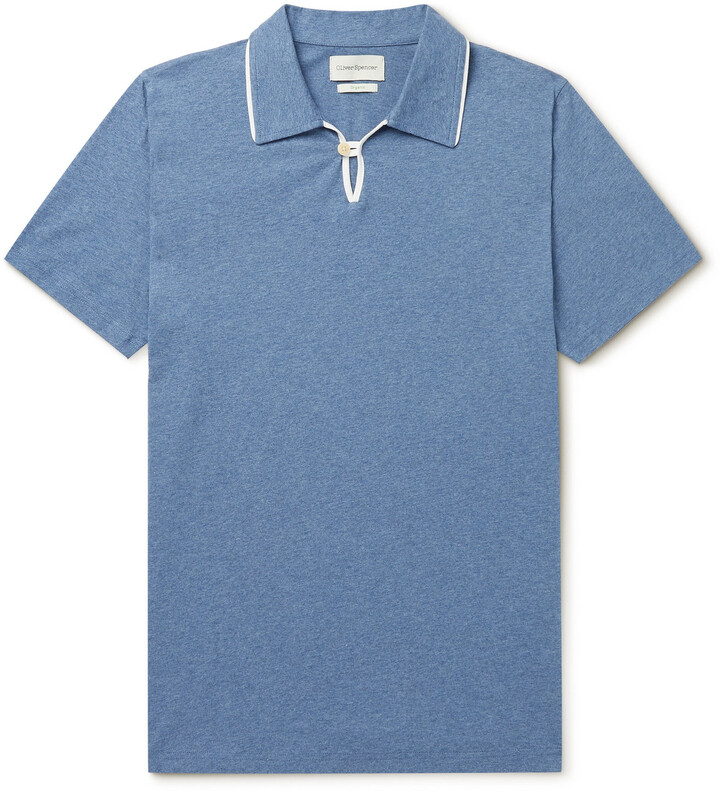 Oliver Spencer Hawthorn Organic Cotton Polo Shirt