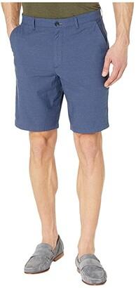 Calvin Klein Dobby Cotton Flex Stretch Shorts (Sky Captain) Men's Shorts