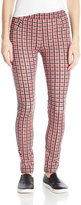 Sanctuary Women's Grease Plaid Ponte Legging