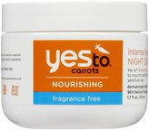 Yes To Carrots Intense Hydration Night Cream-Fragrance Free