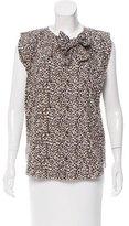 Louis Vuitton Leopard Print Sleeveless Top