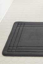 Amrapur GeoPlex Memory Foam Bath Mat - Gray