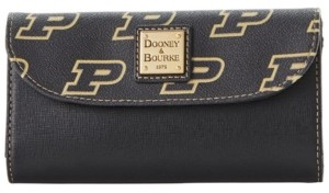 Dooney & Bourke Purdue Boilermakers Saffiano Continental Clutch