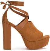 Andrea Bogosian tied platform sandals