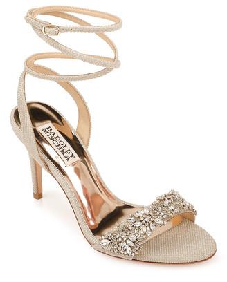 Badgley Mischka Jen Glitter Sandals