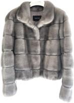 SAM. Rone Grey Mink Jacket for Women