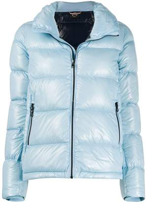 Colmar lacquered-effect puffer jacket