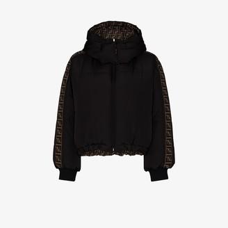 Fendi FF motif reversible puffer jacket