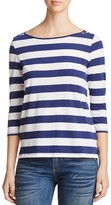 Lilla P Striped Boatneck Tee