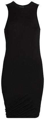 ATM Anthony Thomas Melillo Twist Modal Jersey T-Shirt Dress