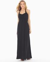 Soma Intimates Basketweave Maxi Dress Black RG