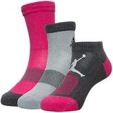 Jordan Kids' 3-Pack Waterfall Socks