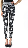 Black & White Block Jeggings