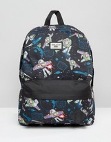 Vans Toy Story Backpack In Buzz Lightyear Print