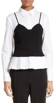 Yigal Azrouel Women's Layered Bustier Blouse
