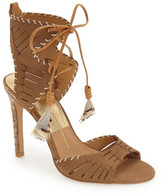 Dolce Vita Hunter Woven Feather Sandal