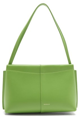 Wandler Carly Small Leather Shoulder Bag - Green