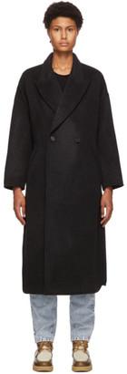 Isabel Marant Black Elliot Coat