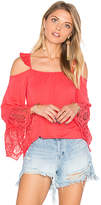 VAVA by Joy Han Paula Top in Coral. - size M (also in S)