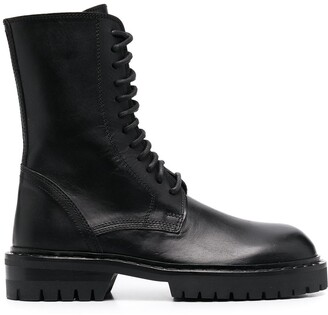 Ann Demeulemeester Stud-Detail Ankle Boots