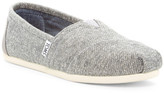 Toms Classic Gray Marled Slip-On - Wide Width