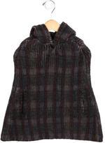 Bonpoint Girls' Wool Plaid Cape