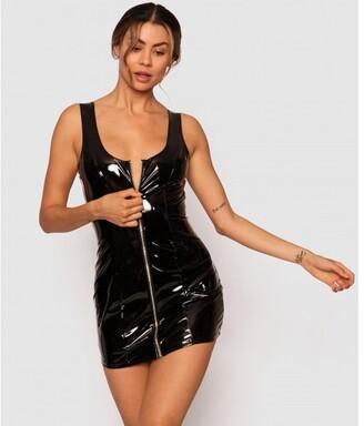 Bras N Things Domme Dress - Black