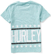 Hurley Big Boys 8-20 Star Stack Short-Sleeve Graphic Tee