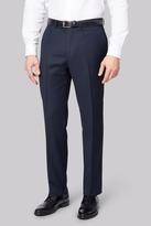 Savoy Taylors Guild Regular Fit Navy Birdseye Pants