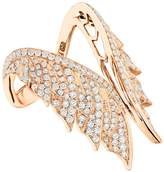 Stephen Webster Magnipheasant Pavé Open Feather Ring