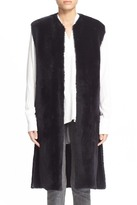 Helmut Lang Genuine Lamb Shearling Vest