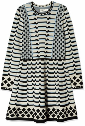 Eliza J Women's Long Sleeve Sweater Dress