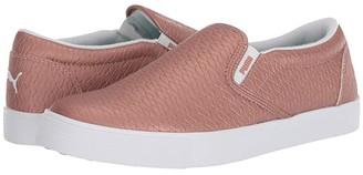 Puma Tustin Slip-On (Black/White) Women's Shoes
