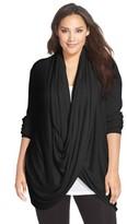 Nordstrom Plus Size Women's Wrap Front Cardigan