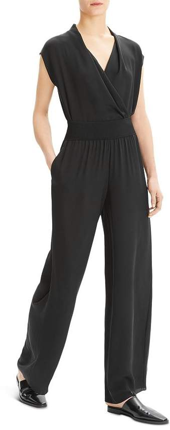 7337c047cad Theory Silk Trousers - ShopStyle
