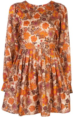 Lhd Arnette floral-print dress