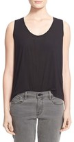 Alexander Wang Women's Low Neck Flared Tank