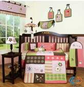 GEENNY Boutique 13 Piece Crib Bedding Set, Floral Dream by GEENNY