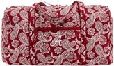 Vera Bradley Alabama Crimson Tide Bandana Travel Duffle Bag