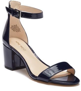 Nine West Fields Ankle Strap Block Heel Sandal