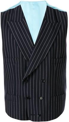 Dolce & Gabbana Double-Breasted Pinstripe Waistcoat