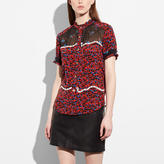 Coach Patchwork Blouse
