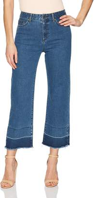 EVIDNT Women's LA Rochelle HIGH Rise Micro Flare Ankle Stretch Jeans