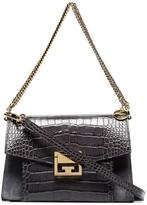 Givenchy GV3 crocodile-effect shoulder bag