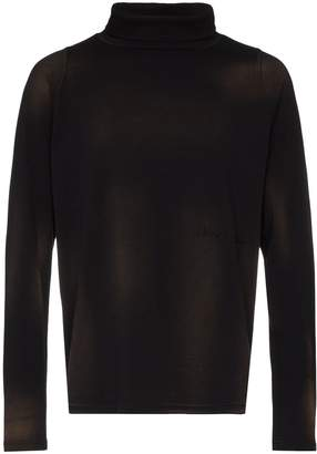 Martine Rose roll-neck long-sleeve T-shirt