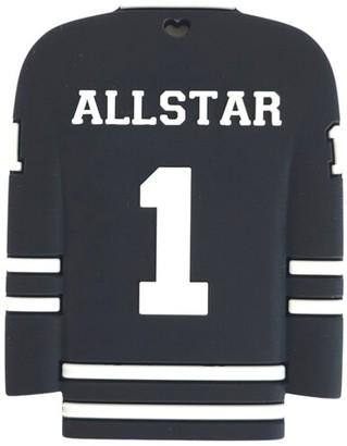 Sloane & Blake Inc. Hockey Jersey Silicone Teether Black