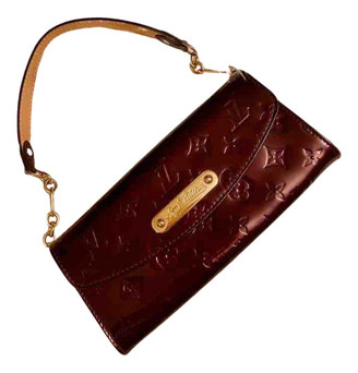 Louis Vuitton Sunset Boulevard Red Patent leather Clutch bags